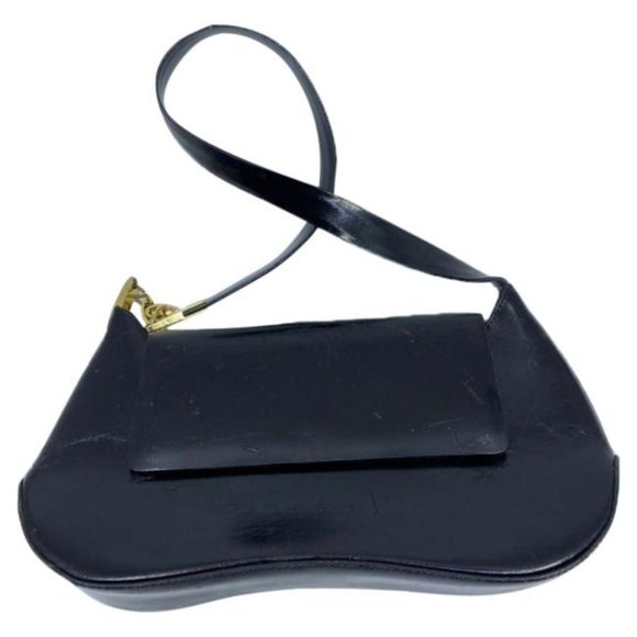 Francesco Biasia Black Shoulder Mini Bag
